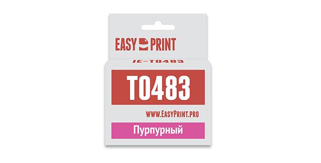 Картридж EasyPrint Epson C13T0483 (Пурпурный)