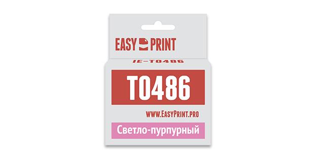 Картридж EasyPrint Epson C13T0486 (Светло-пурпурный)