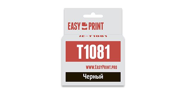 Картридж EasyPrint Epson C13T0921/T1081 (Черный)