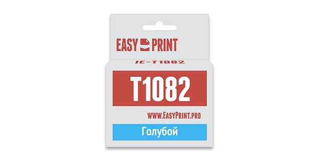 Картридж EasyPrint Epson C13T0922/T1082 (Голубой)