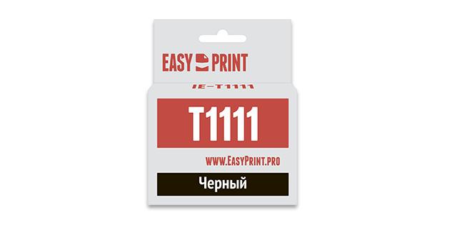 Картридж EasyPrint Epson C13T0811/T1111 (Черный)