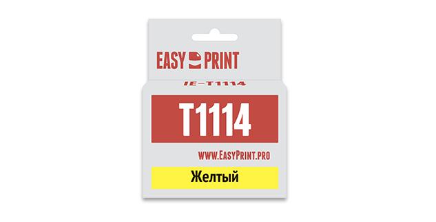 Картридж EasyPrint Epson C13T0814/T1114 (Желтый)