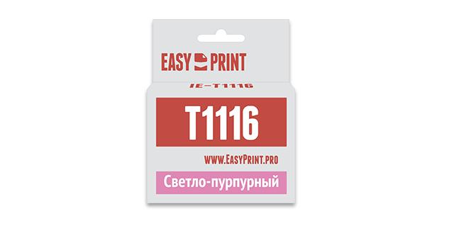 Картридж EasyPrint Epson C13T0816/T1116 (Светло-пурпурный)