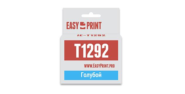 Картридж EasyPrint Epson C13T1292 (Голубой)