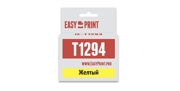 Картридж EasyPrint Epson C13T1294 (Желтый)