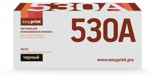 Картридж EasyPrint HP CF530A для HP Color LaserJet Pro M154a/M154nw/M180n/M180fw (1100стр.) черный