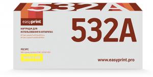 Картридж EasyPrint HP CF532A для HP Color LaserJet Pro M154a/M154nw/M180n/M180fw (900 стр.) желтый